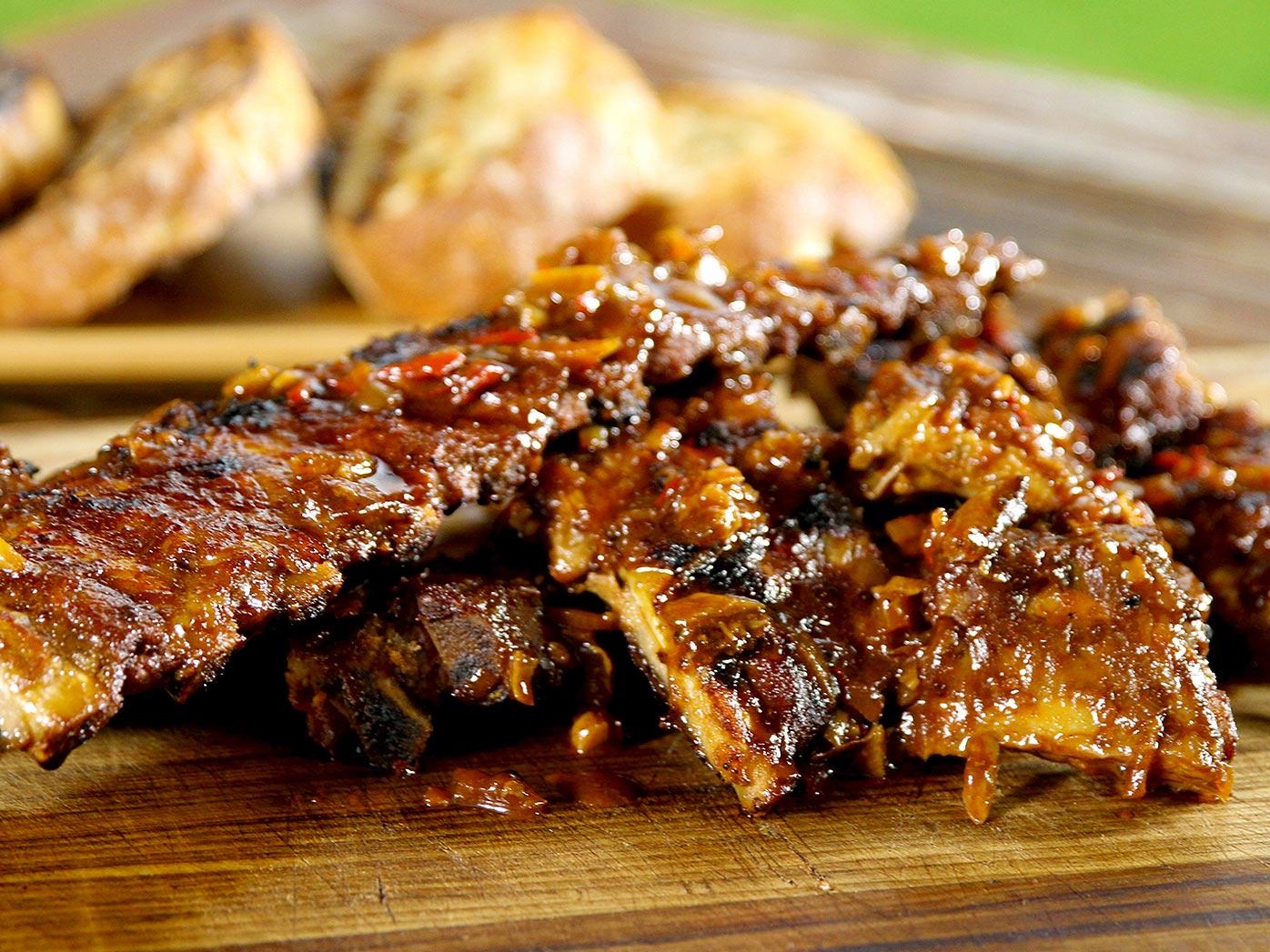 Asado-style beef ribs