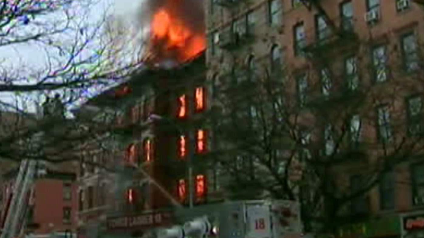 New York building explosion