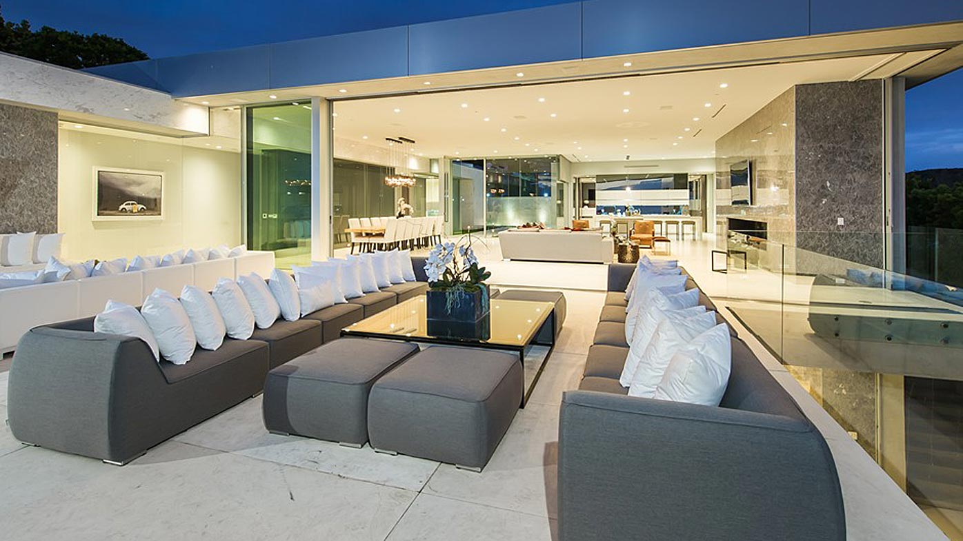 Winklevoss LA mansion for rent