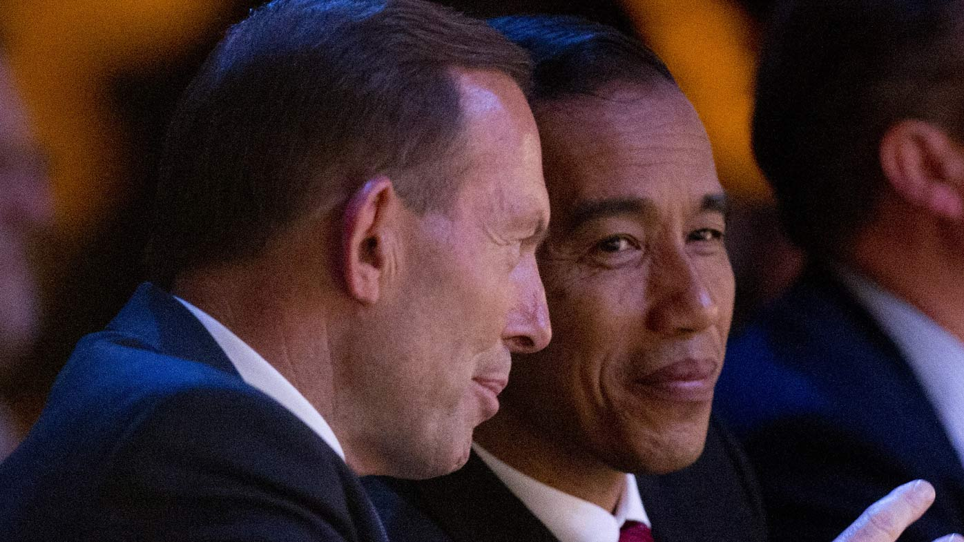 Abbott and Widodo