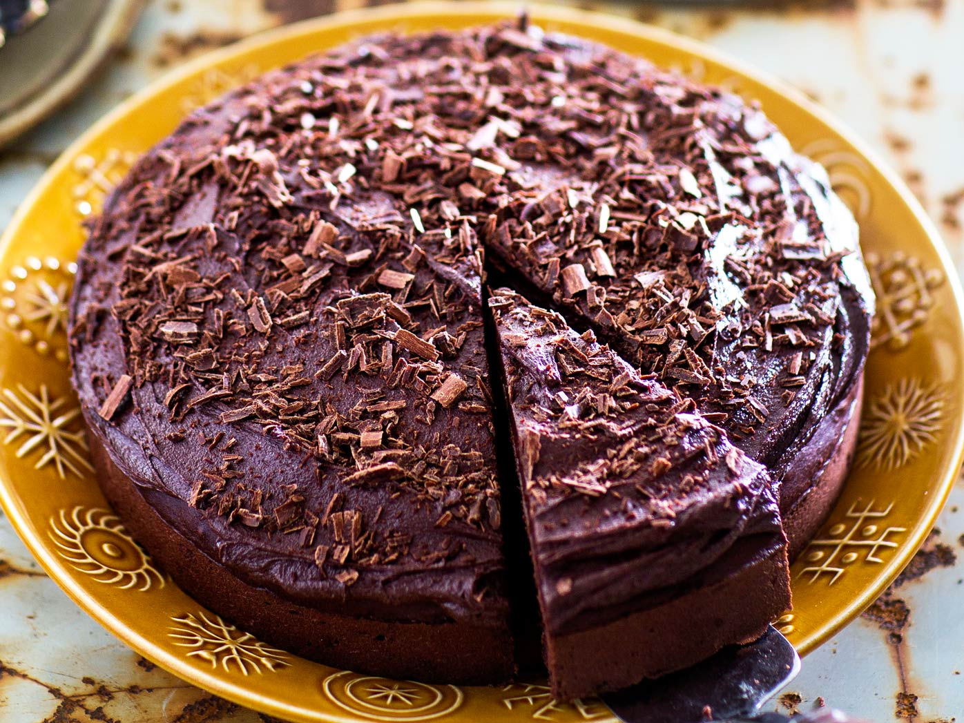 Gran's boiled chocolate cake