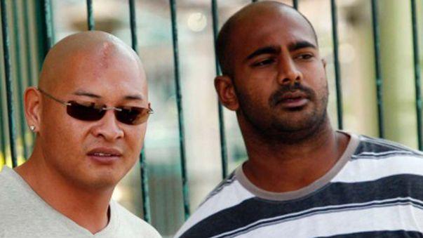 Myuran Sukumaran (right) and Andrew Chan (AAP).
