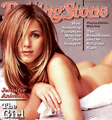 Jennifer Aniston's Rolling Stone cover