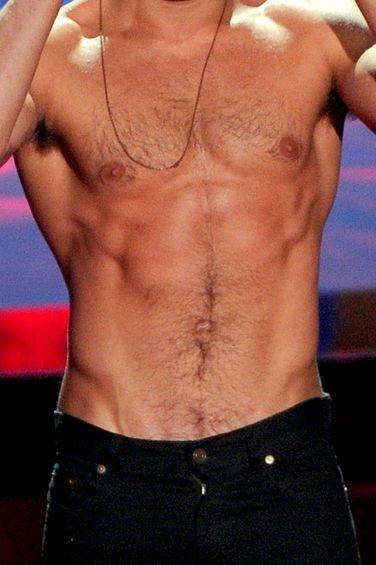 Zac Efron's abs