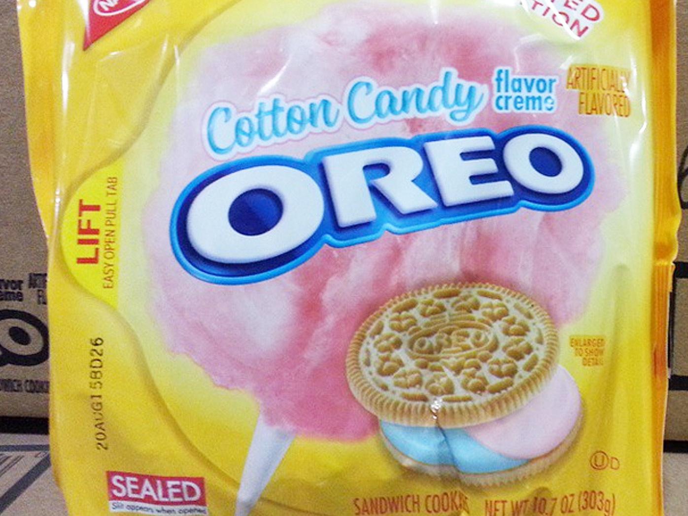 Cotton Candy Oreos bring back the strange