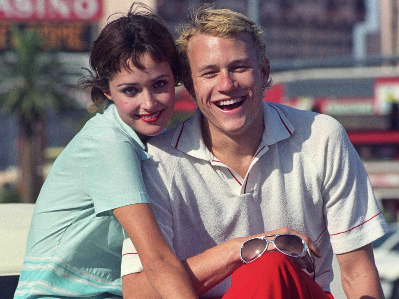 Rose Byrne and Heath Ledger