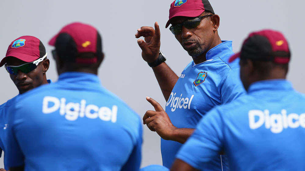 West Indies coach Phil Simmons. (Getty-file)