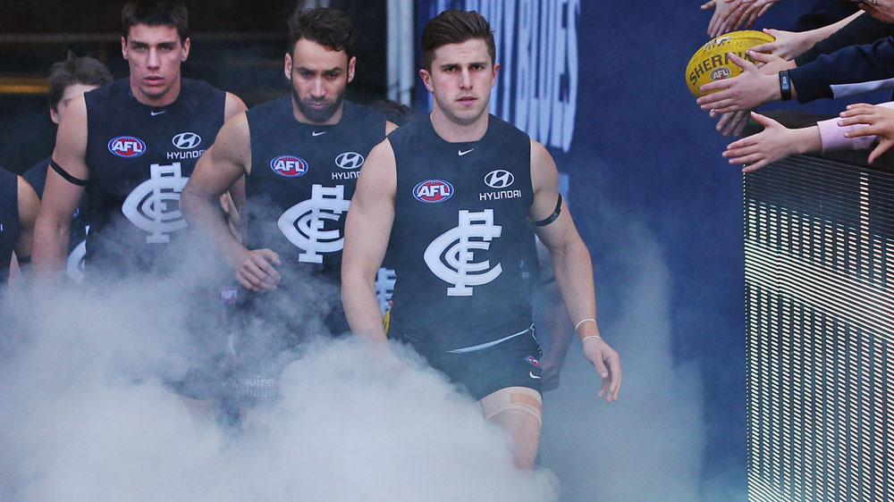Carlton skipper Marc Murphy. (Getty-file)