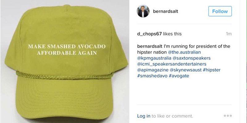 KPMG partner Bernard Salt's response to his critics. (Instagram)