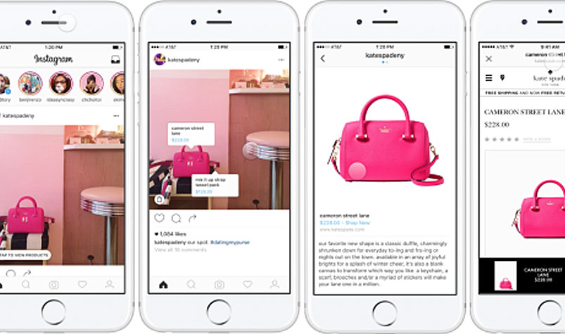 Shopping coming to Instagram. (Instagram)