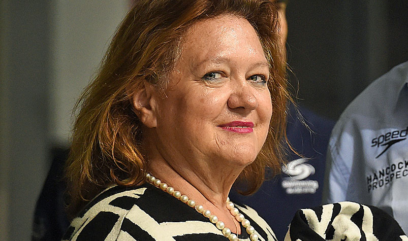 Australia's richest woman has warned the Australian government it risks heading down a dangerous debt path. (AAP)