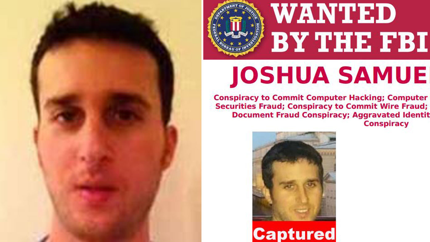 If found guilty, Joshua Aaron faces maximum sentences of between five to 20 years on each count. (FBI)