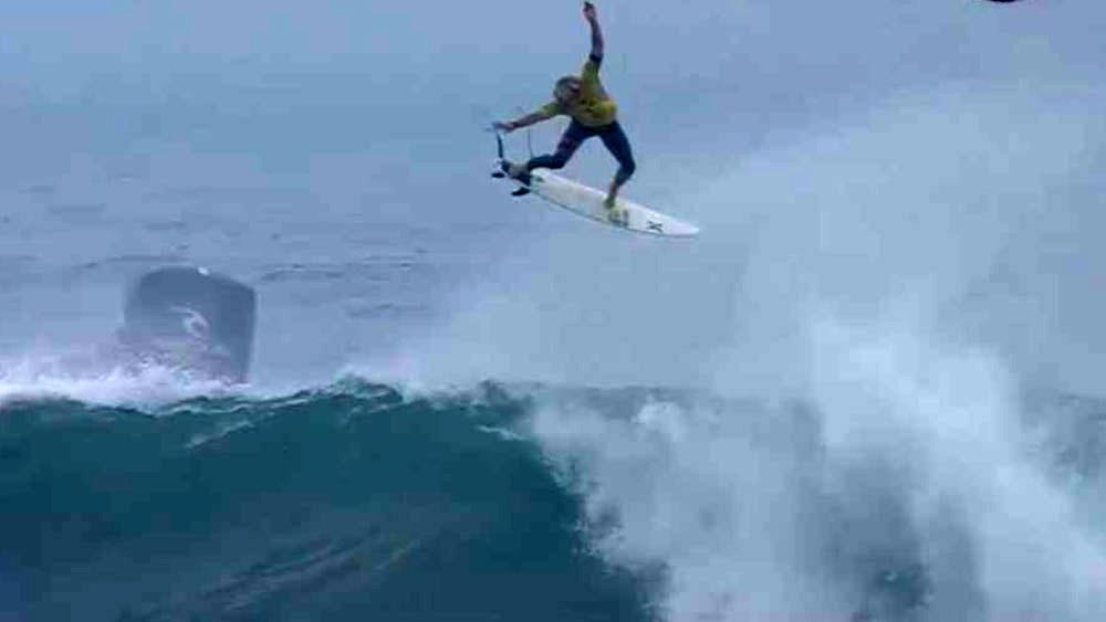 Hawaiian surfer John John Florence.