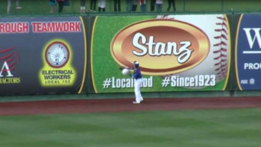 South Bend Cubs outfielder DJ Wilson.