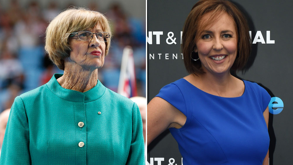 Margaret Court and Liz Ellis share drastically different views on same-sex marriage. (AAP)