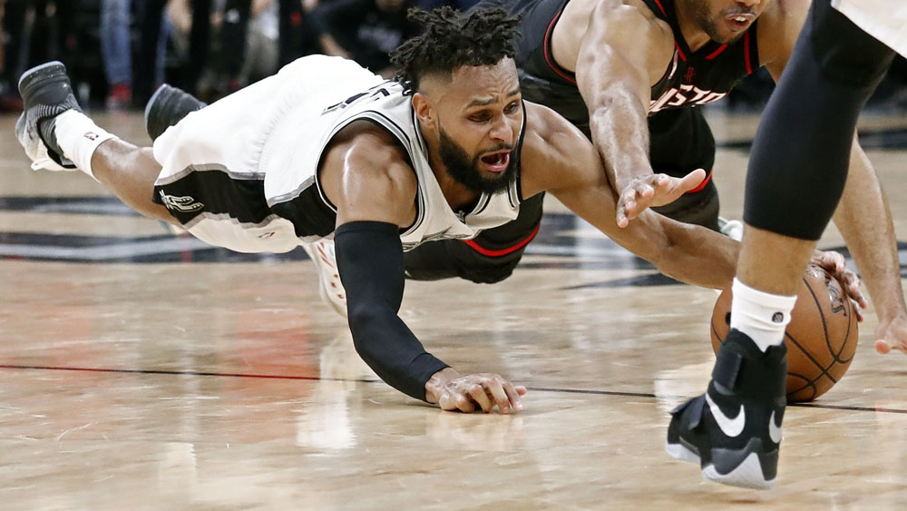 Patty Mills has agreed to a $65million deal to remain with the Spurs. (AAP)