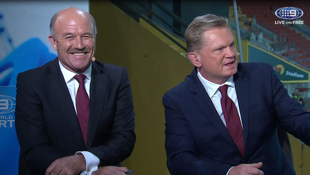 Wally Lewis and Paul Vautin.