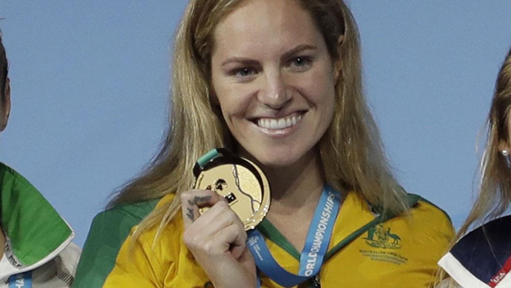Emily Seebohm claimed a gold medal in the women's 200m backstroke. (AAP)