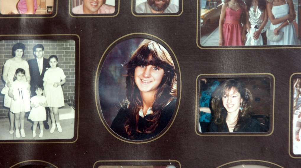 Gina Papaioannou (centre), who was one of seven people killed by Julian Knight.