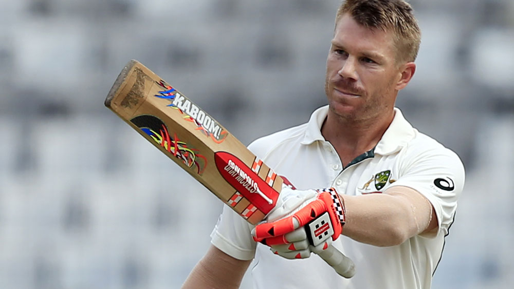 David Warner scored a superb century against Bangladesh. (AAP)