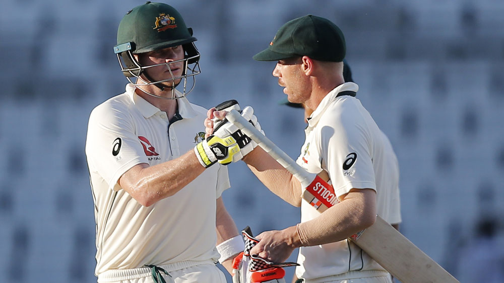 Steve Smith and David Warner will have key roles to play during the Ashes. (AAP)
