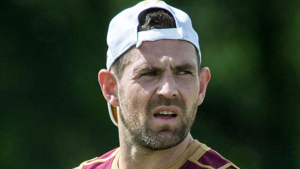 Luke Hodge at Brisbane training
