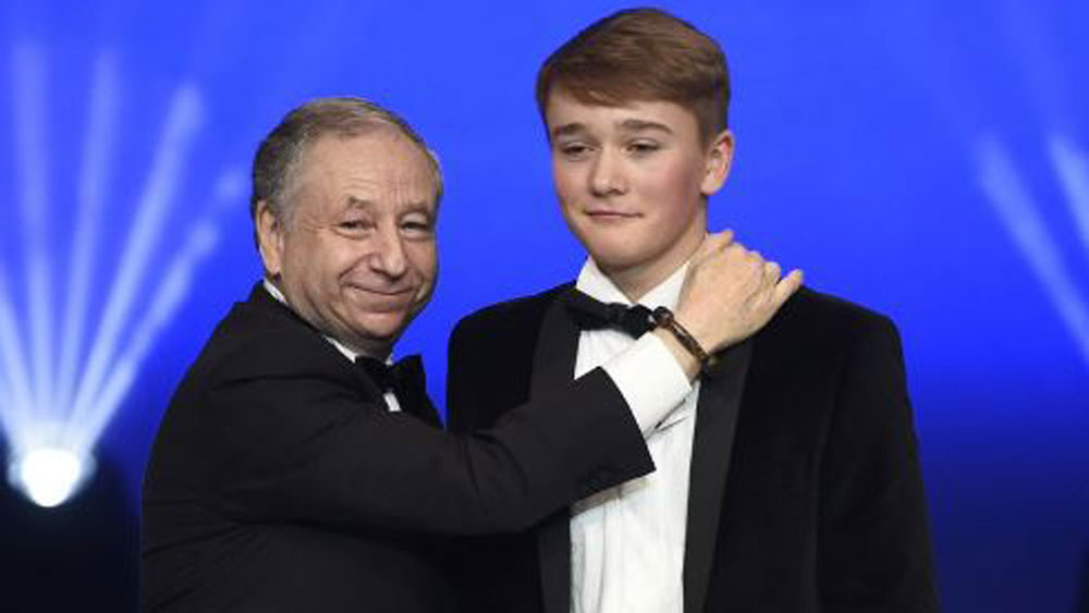 Jean Todt and Billy Monger.