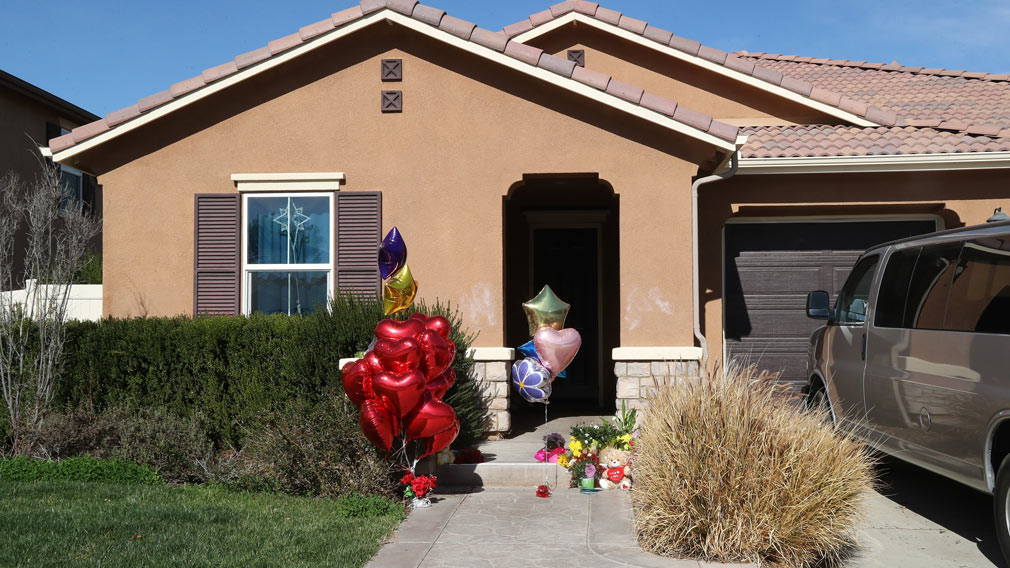The children were allegedly systematically starved, beaten, abused, shackled to furniture and disallowed bathing and medical services while kept captive in their Perris home. Picture: Google.