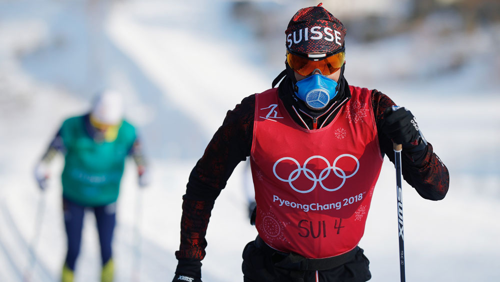 Swiss cross country skier.