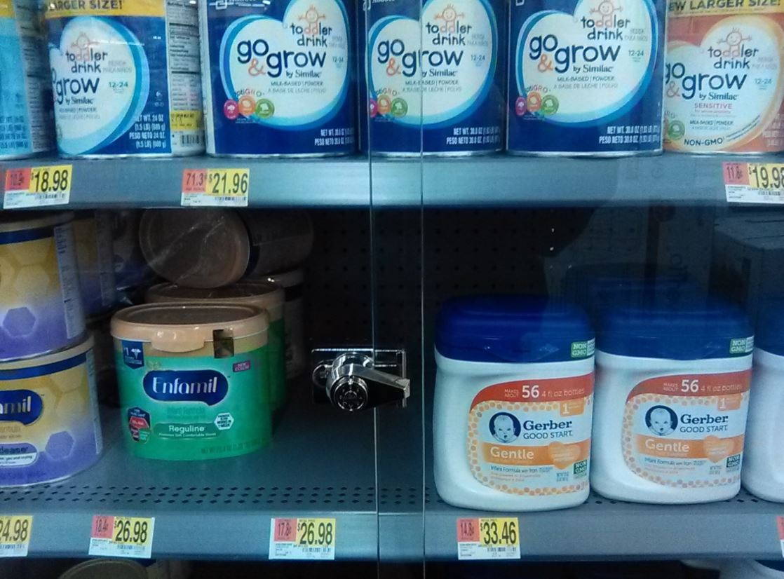 Stores go to extreme measures to protect baby formula
