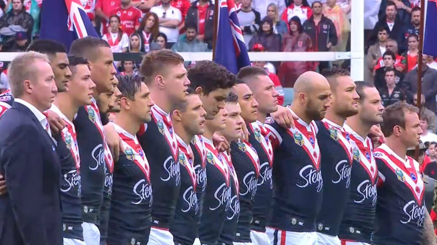 Roosters ANZAC lineup