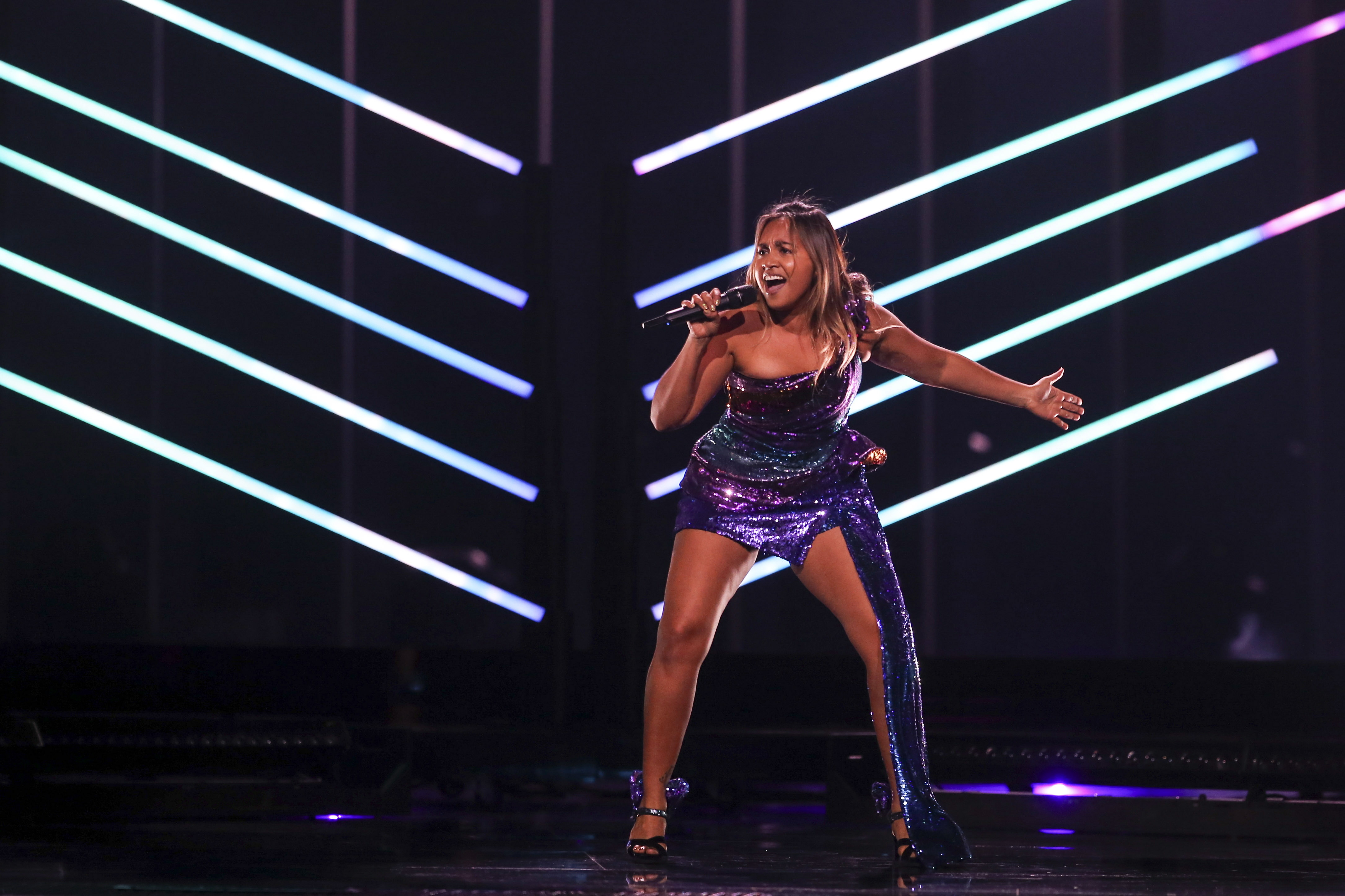 Jessica Mauboy nails Eurovision final