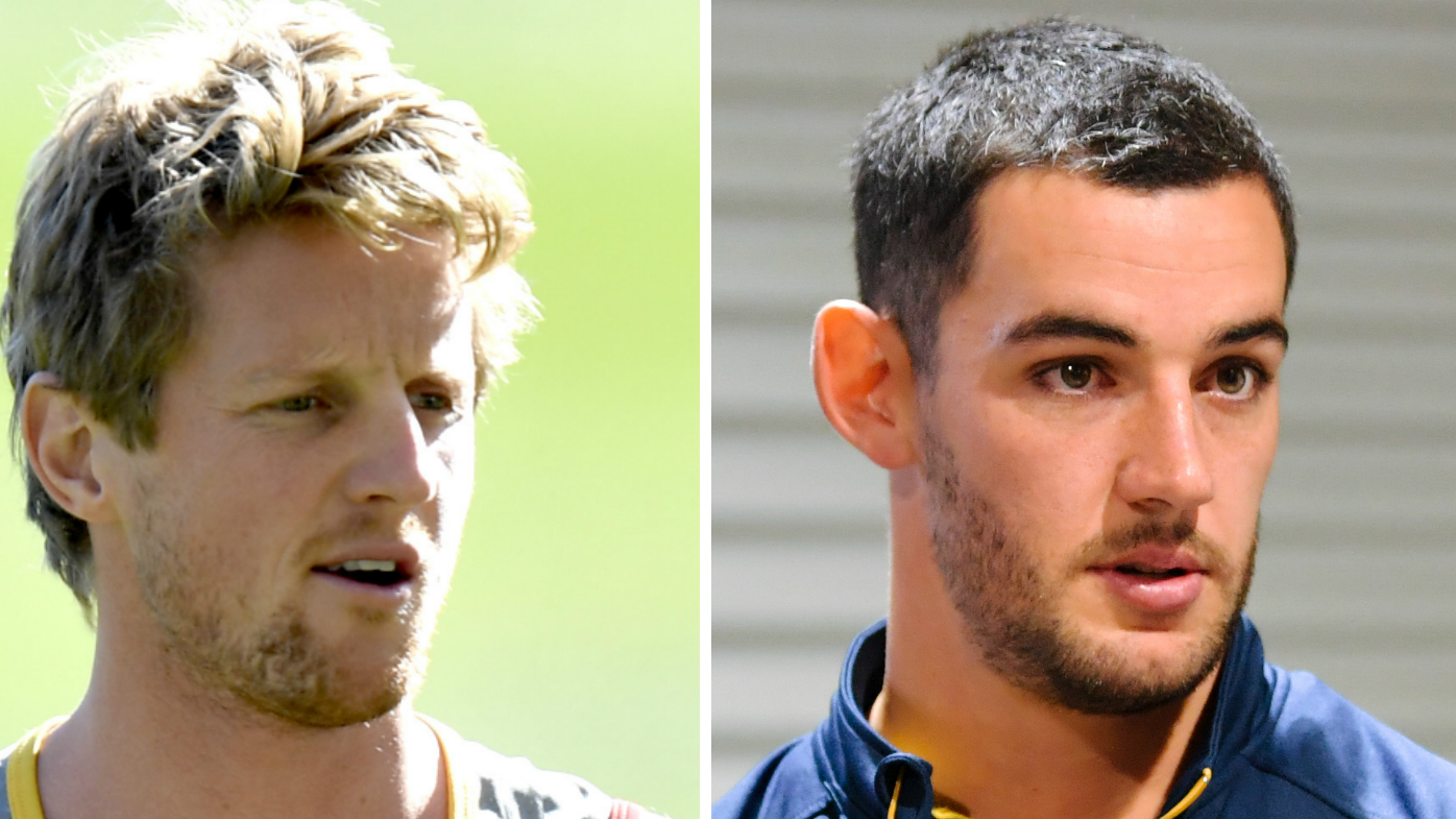 Rory Sloane and Taylor Walker