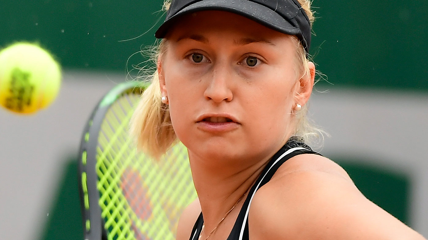 Daria Gavrilova in action