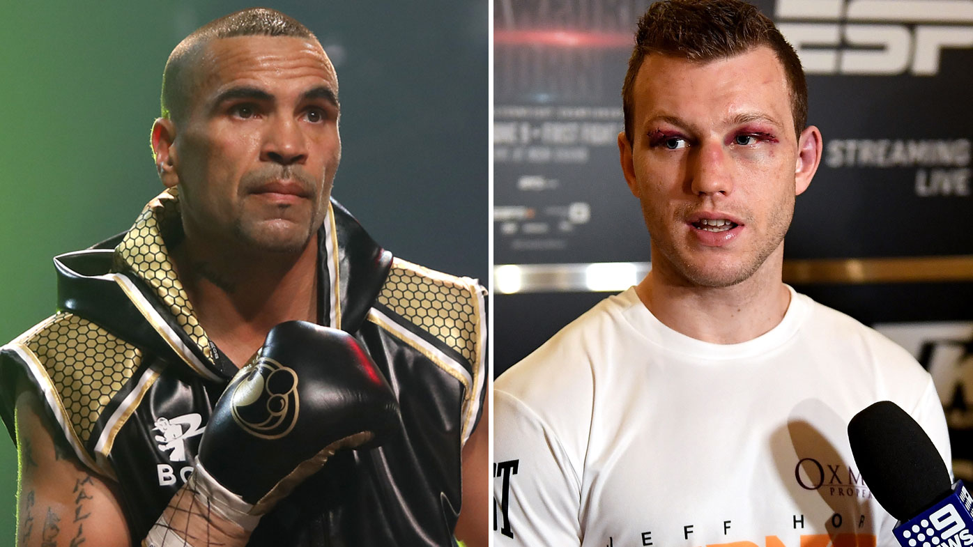 Anthony Mundine and Jeff Horn