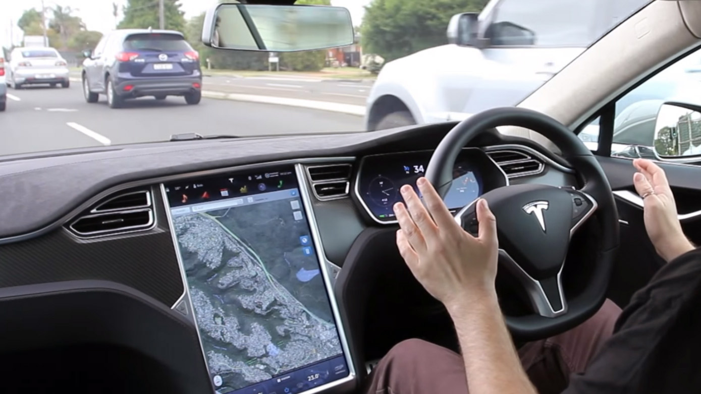 Tesla owners could soon be piloting cars with 'self-driving