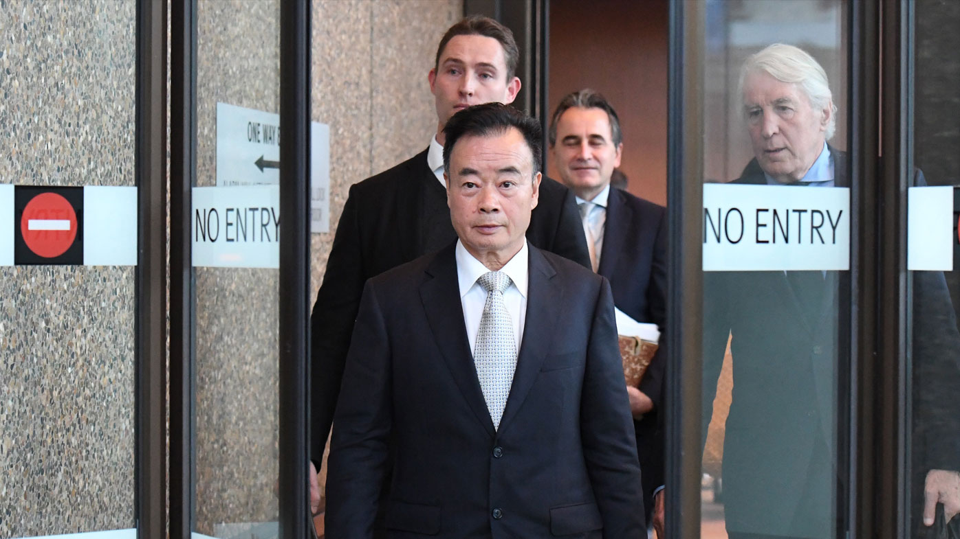 Chinese-Australian billionaire Chau Chak Wing is suing Fairfax Media and a journalist for defamation over a 2015 online article. (AAP Image/Peter Rae)