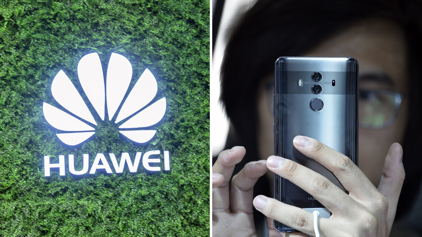 Huawei's Mate 10 Pro (right) comes highly acclaimed amongst tech reviewers. Images: AAP
