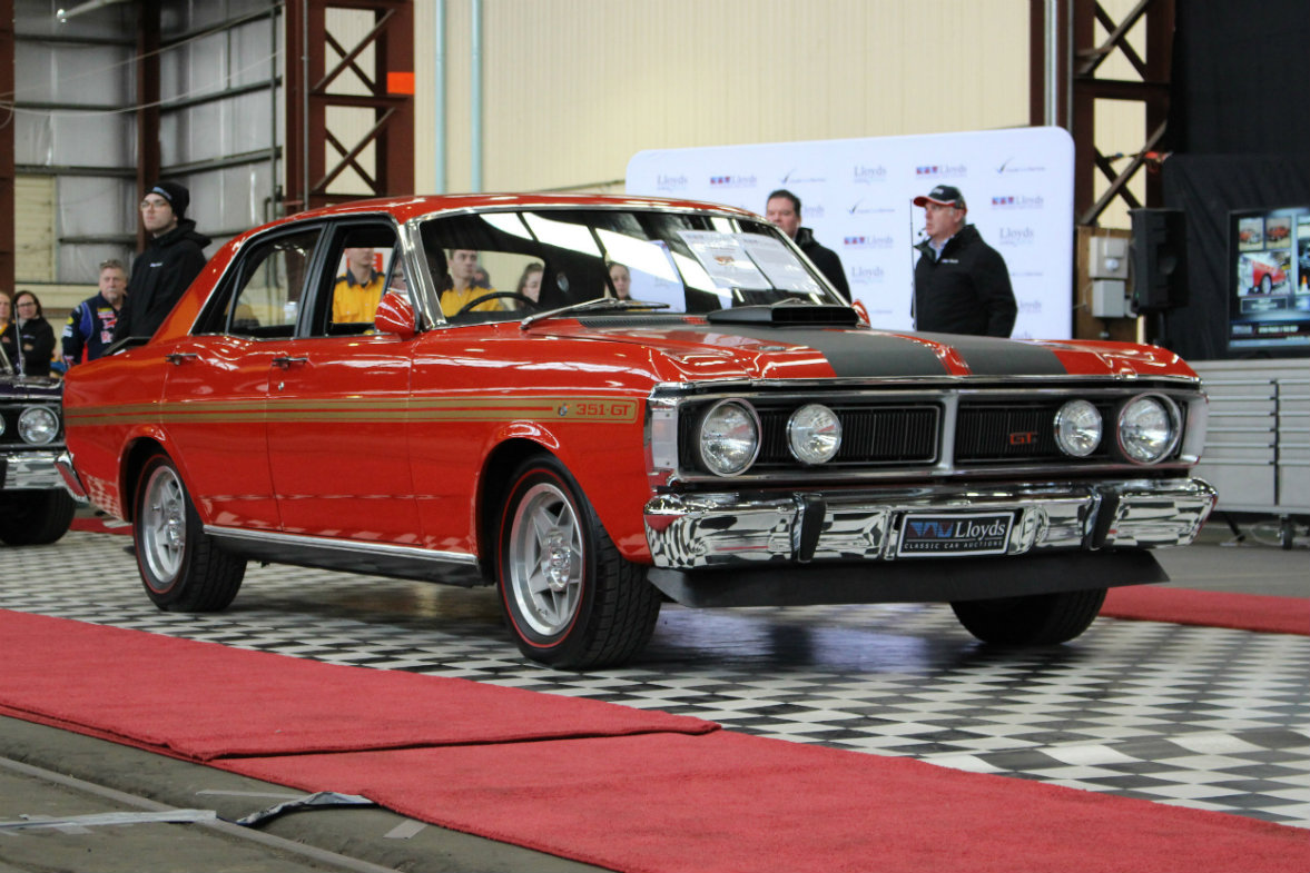 Rare Ford GTFO Phase III Falcon once owned by Jeff Thomson