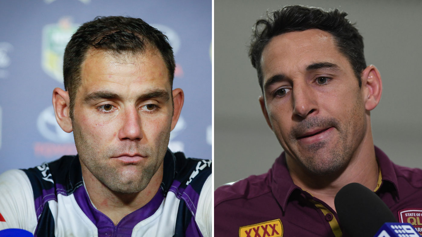 Cameron Smith (left) and Billy Slater