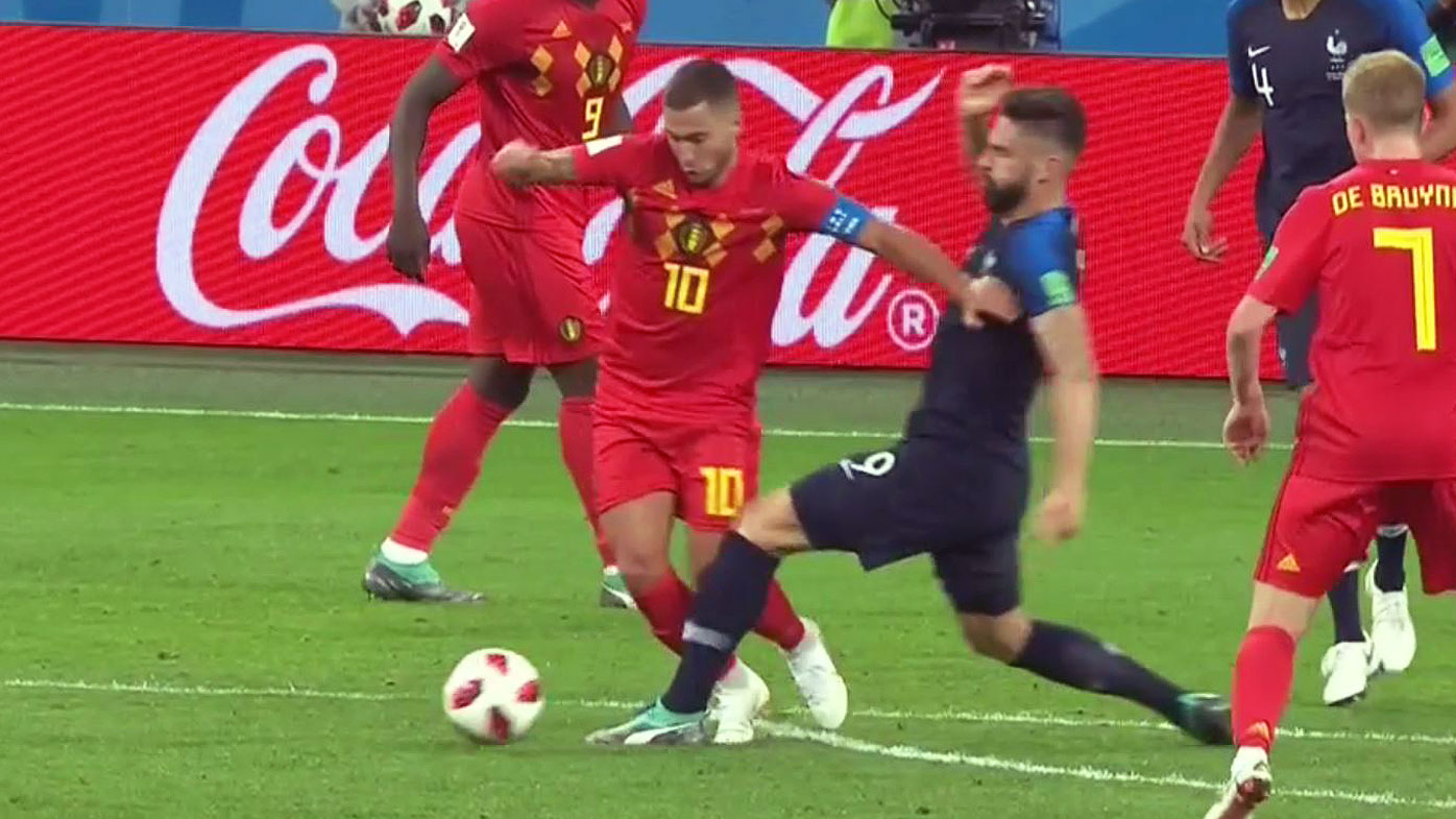 Eden Hazard tackle