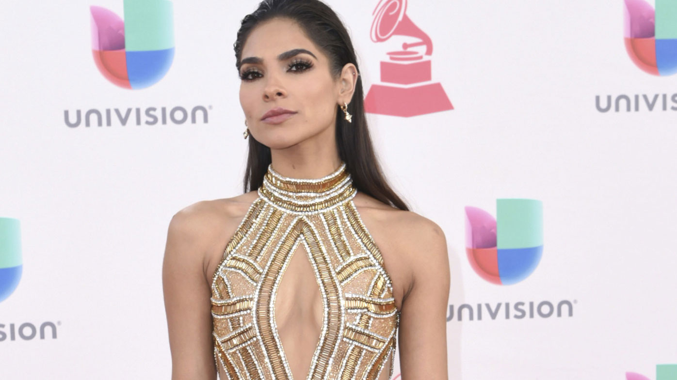 Alejandra Espinoza hosted the 11th season of Univision's beauty pageant.