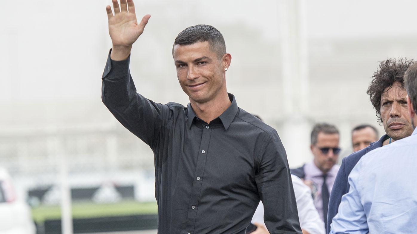 pretty nice 3b131 69c36 Juventus unveils superstar Cristiano Ronaldo amid record ...