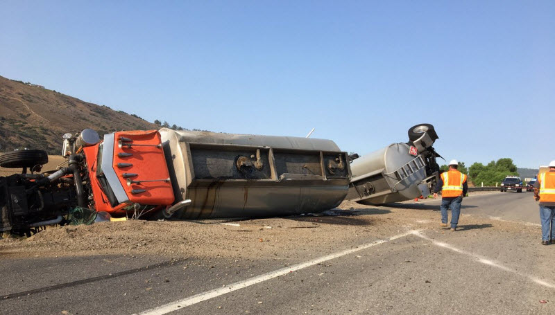 Truck Crash - California Department of Transportation