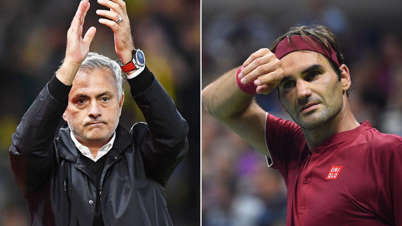 Mourinho urges Man U to channel Federer