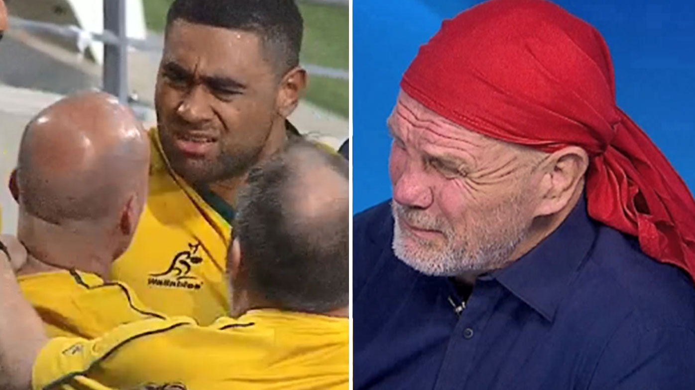 Fitzy unloads on unruly Wallabies fan