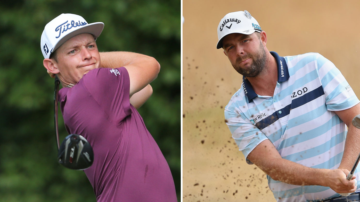 Cam Smith (left) and Marc Leishman