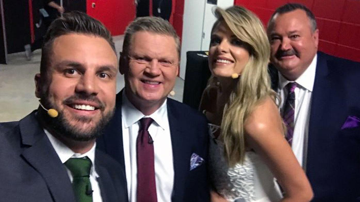 Beau Ryan and co-hosts