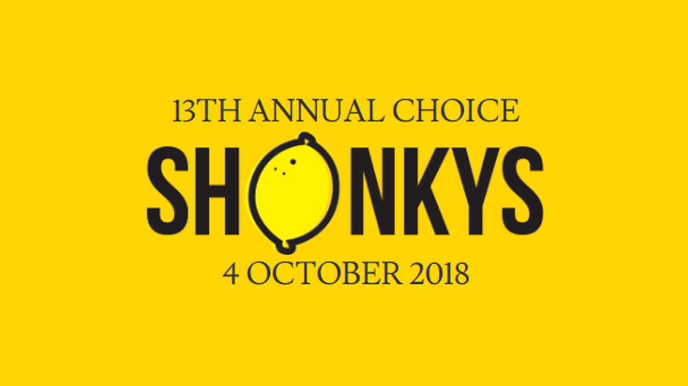 Shonky Awards Choice