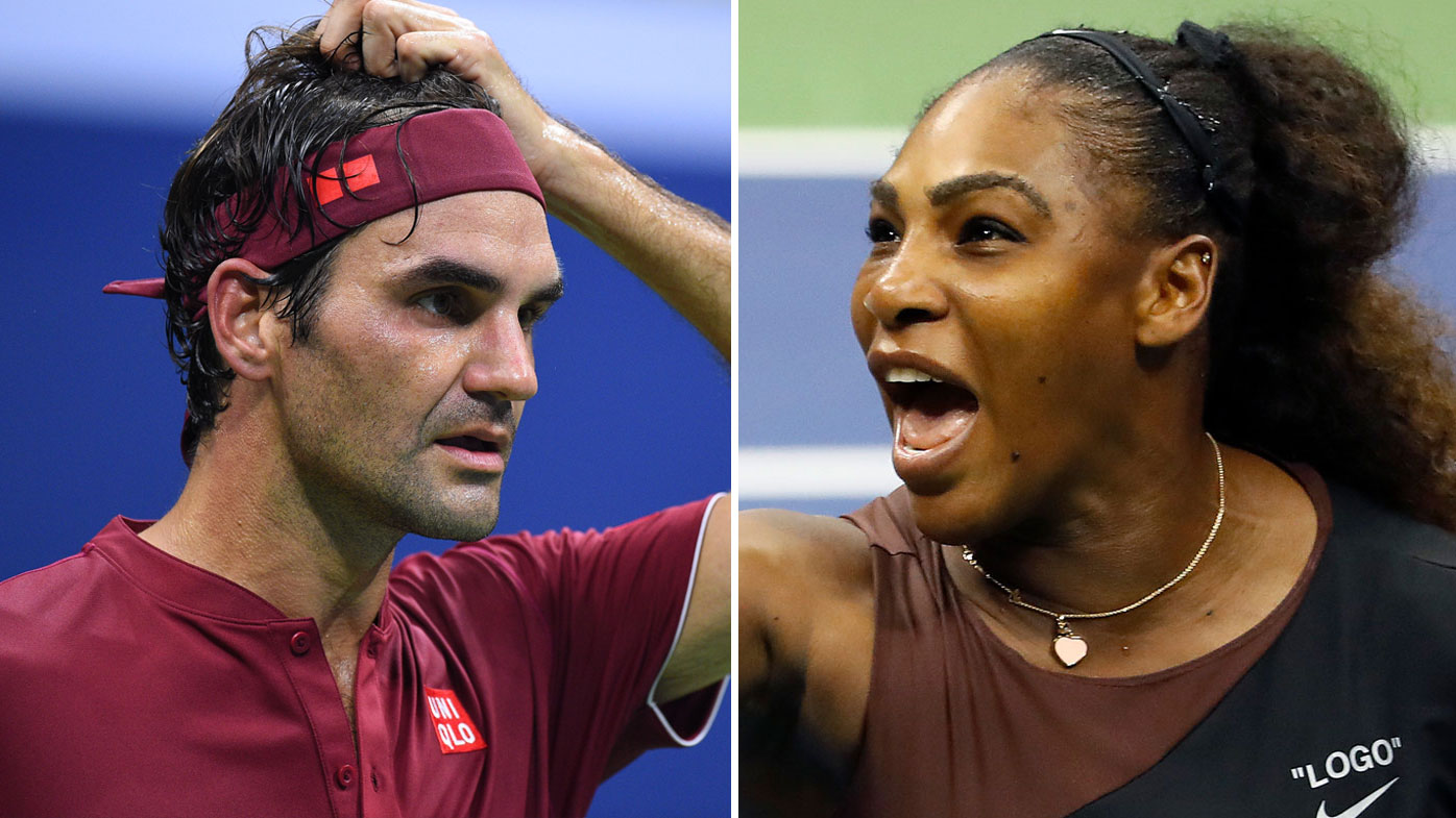 Federer and Williams